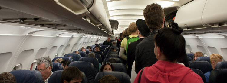 Image result for overbooked flight