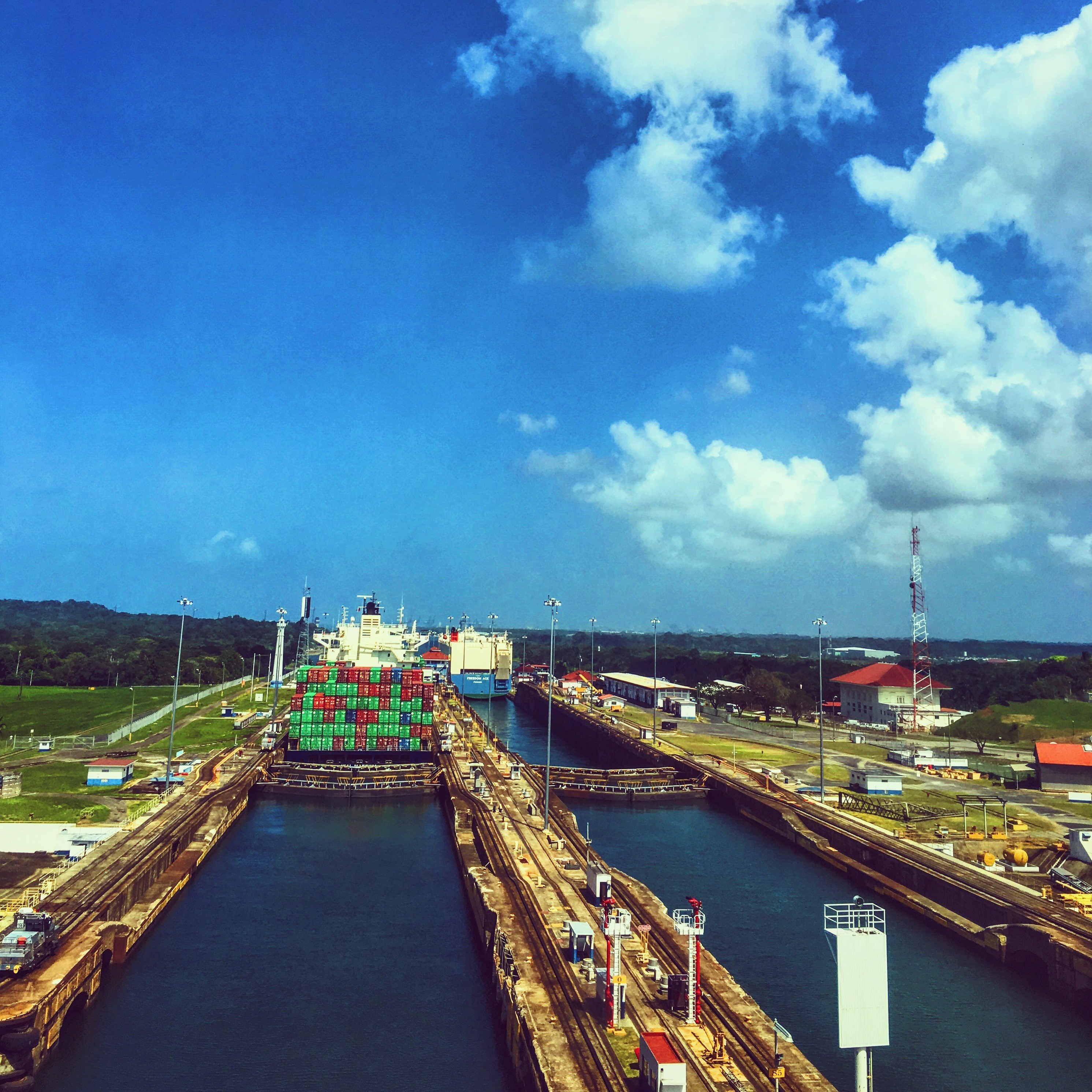 Panama Canal Transit via Norwegian Pearl