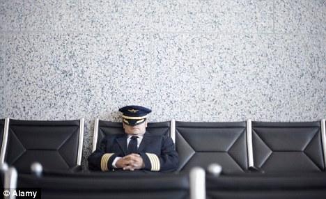 Pilote de ligne sieste