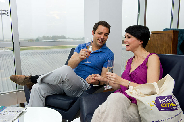 Relax with Airport Lounge Access