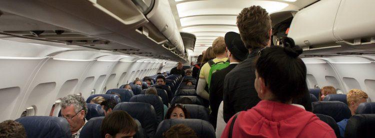 flyet er overbooket