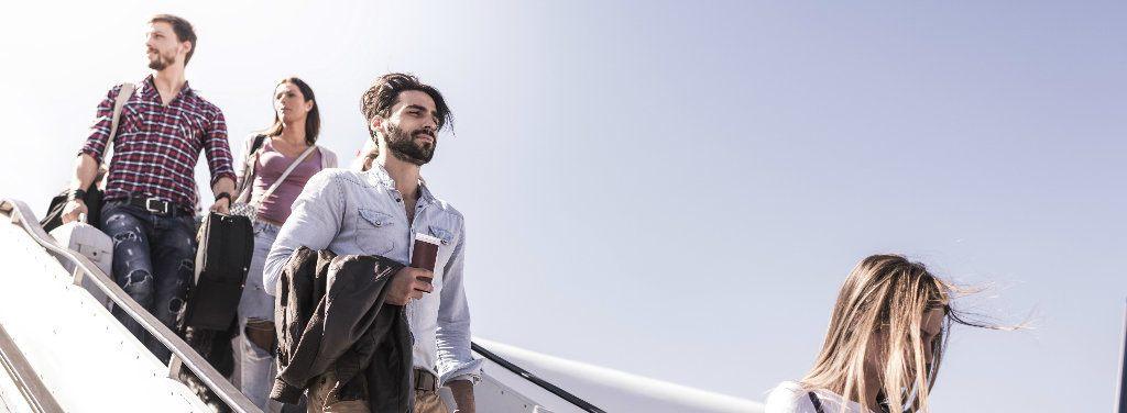 Skandaler på flygplan