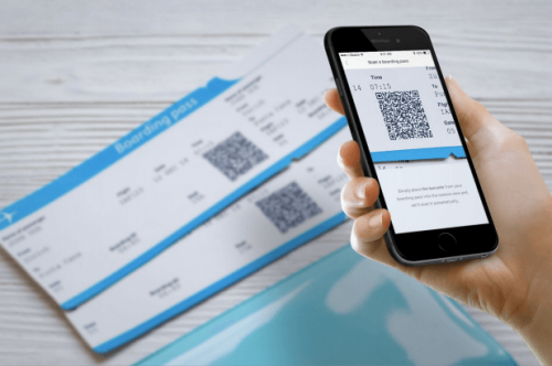 boarding pass scanner