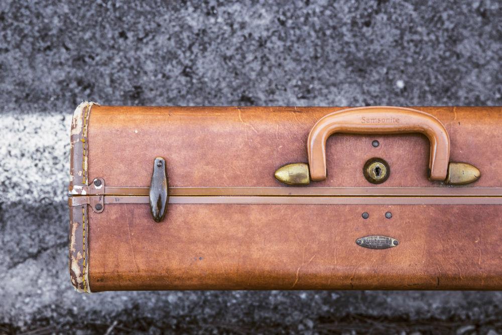 skadat bagage