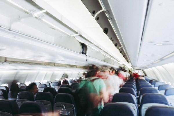Boarding på flygplanet