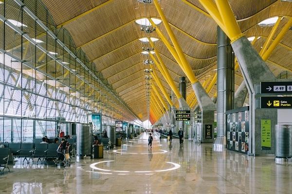 Flygplats inifrån