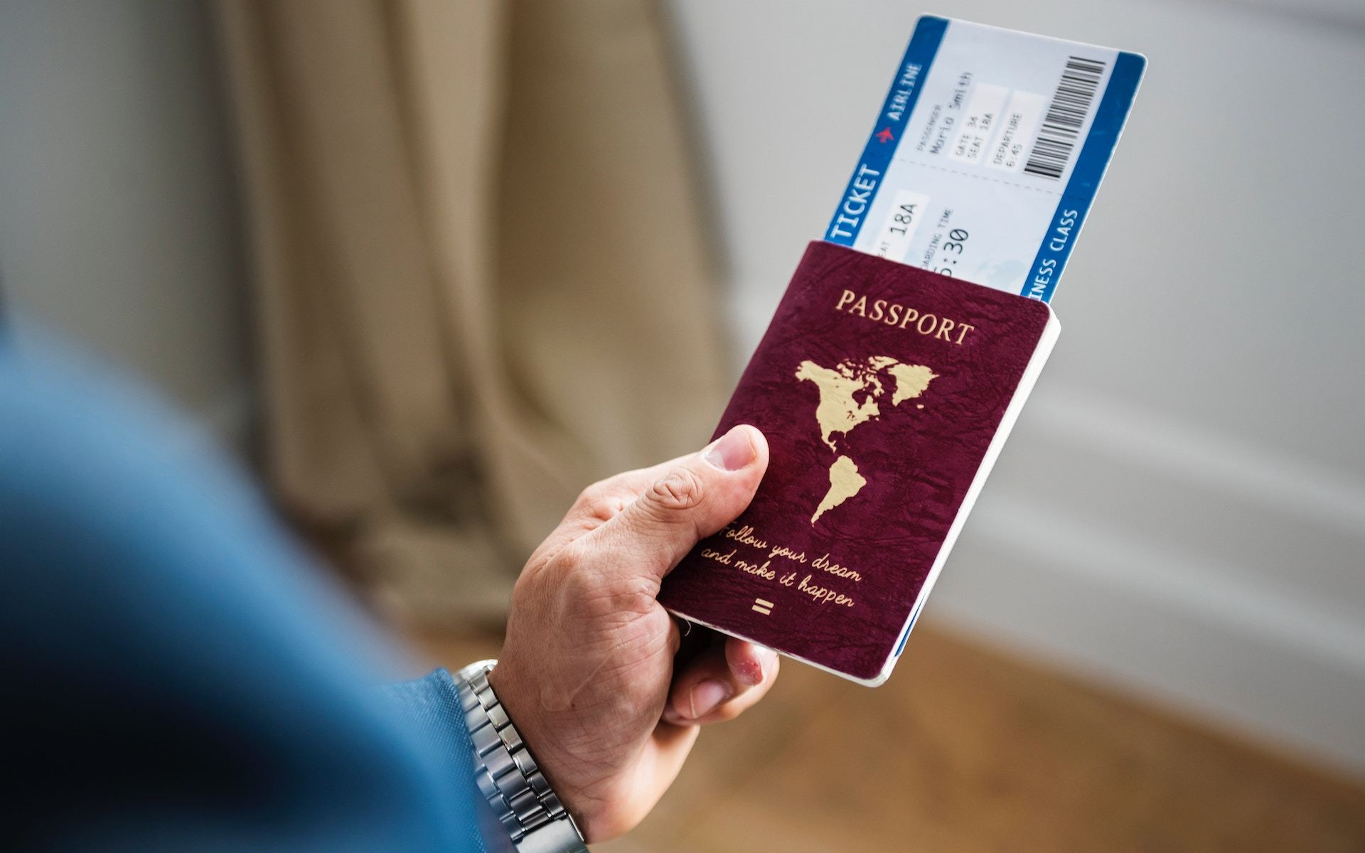 plane tickets for travel abroad