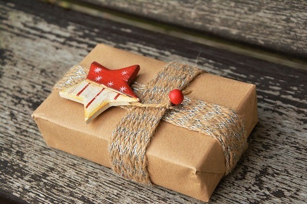 Wrapped Christmas Parcel