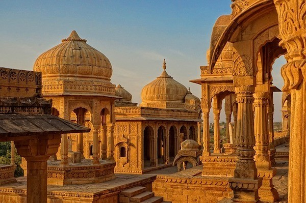Bada Bagh Temple, Jaisalmer, India