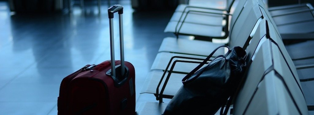 Lost luggage at airport