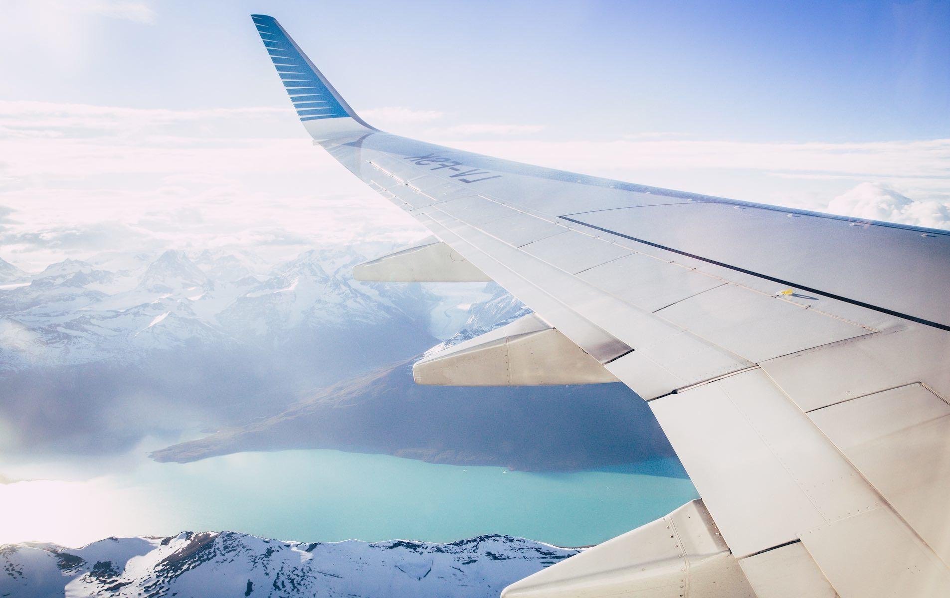 Flyvindu utsikt