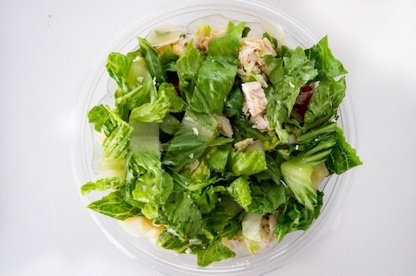 insalata di Cesare con pollo