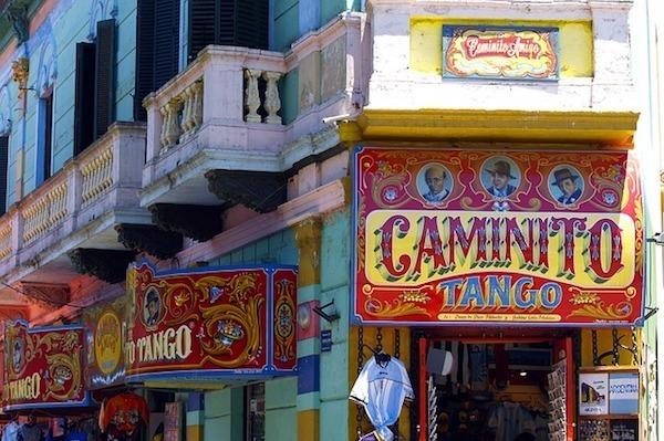 Caminito Tango in Buenos Aires