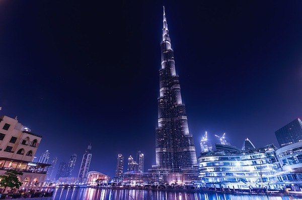 Burj Khalifa at Dubai