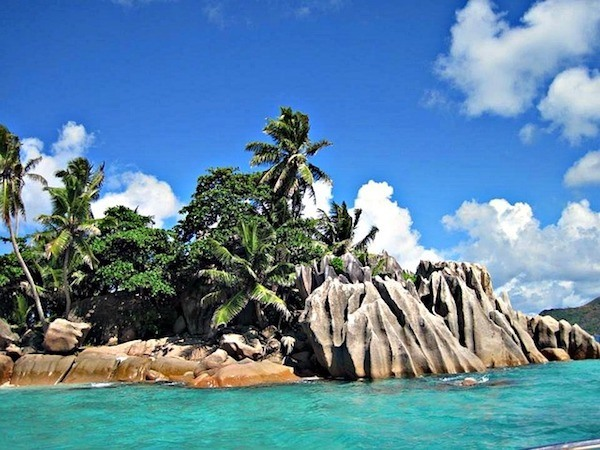 Anse Source d'Argent beach in the Seychelles