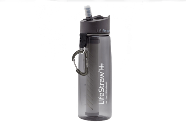 lifestraw go filtered water bottle
