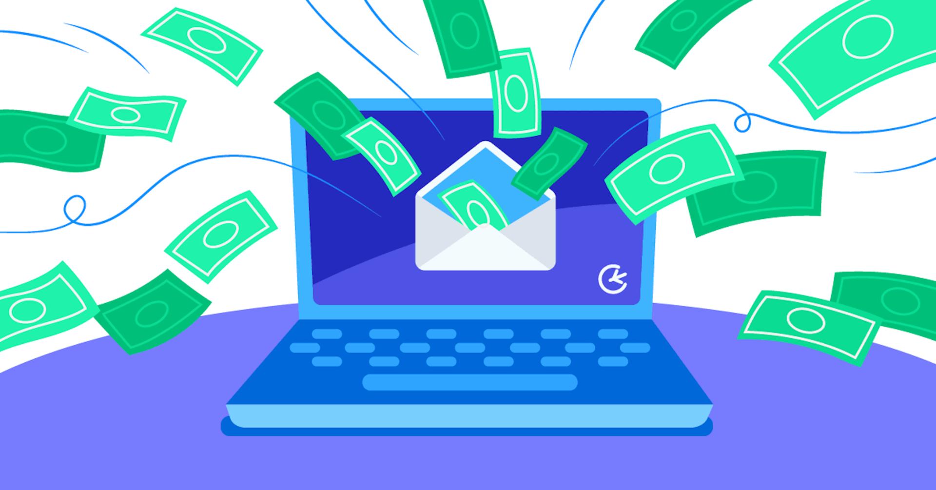 money in inbox
